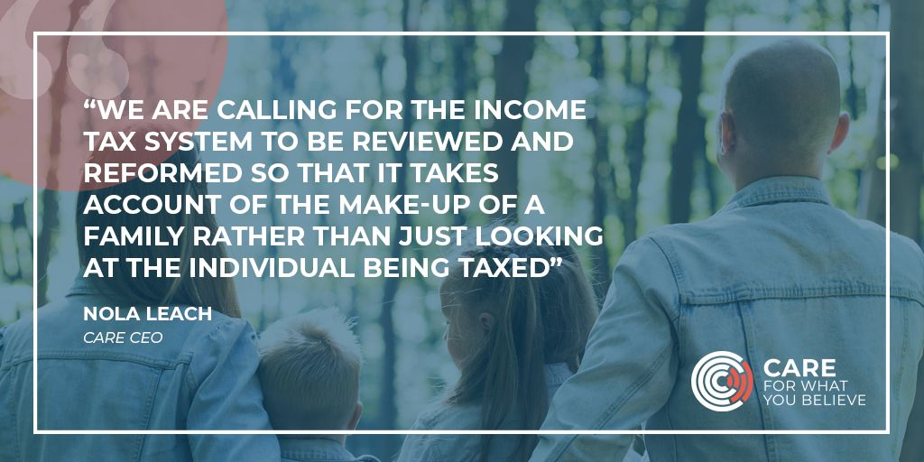 Quote from CARE's latest Tax Report
