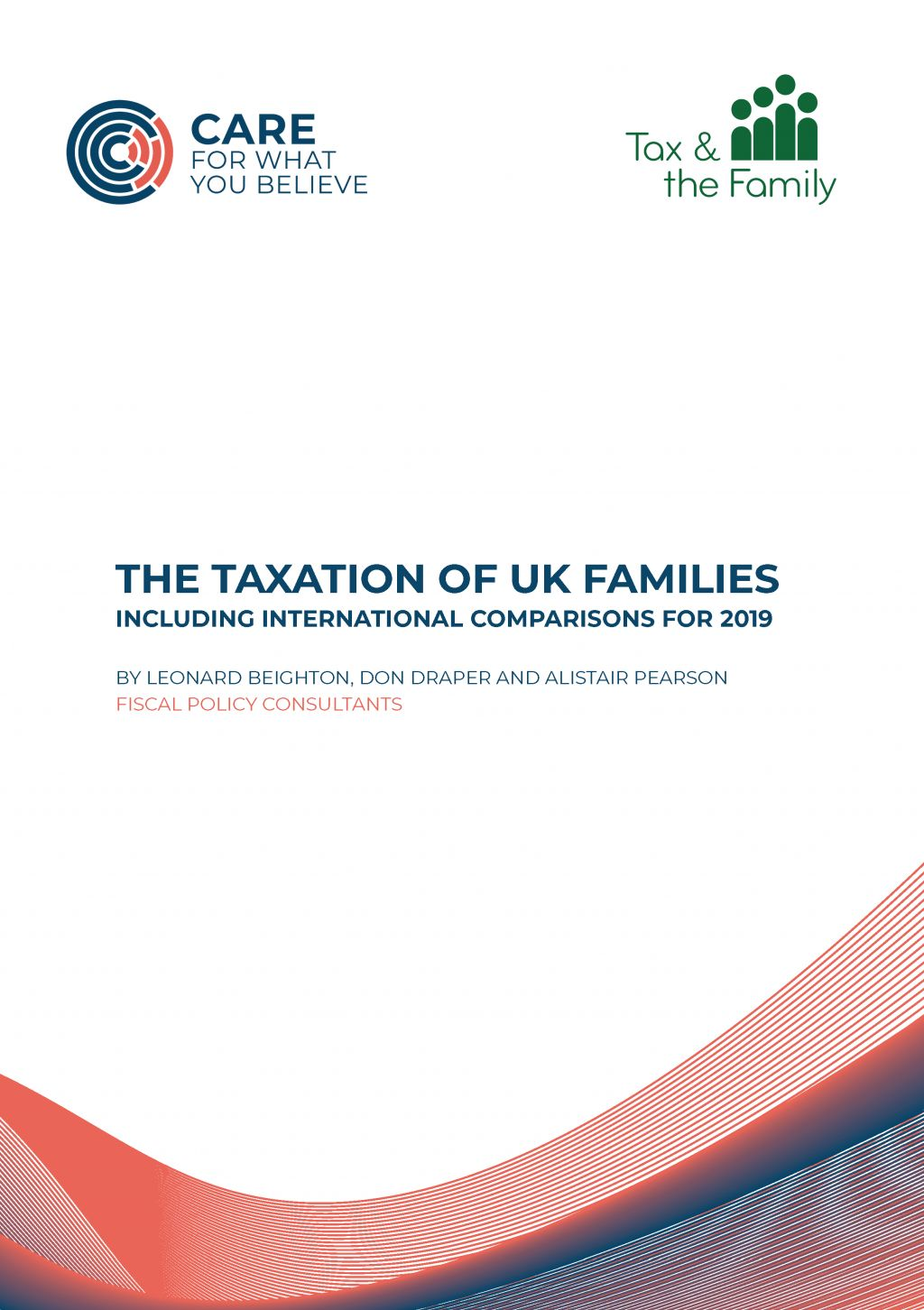 Tax Report 2019 Front Cover