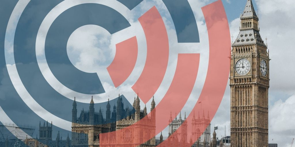 The CARE logo with backdrop of Big Ben and Westminster