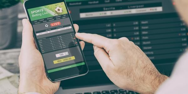 Football gambling online smartphone laptop 0 15