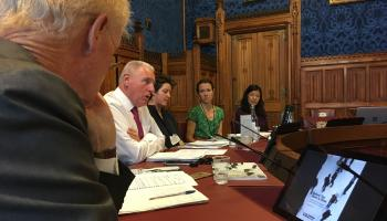 Report launch in Parliament