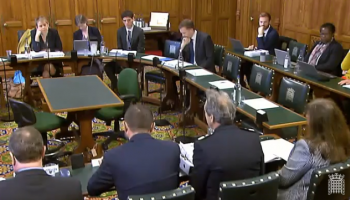 Home Affairs Select Committee session