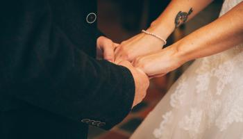 hands joined together