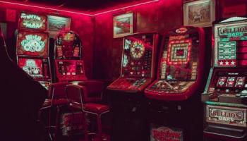 Picture of gambling machines