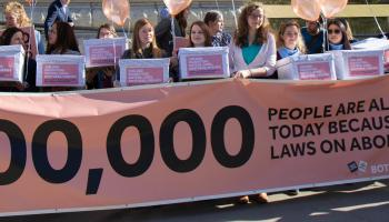 100,000 people alive in NI today thanks to life-affirming laws